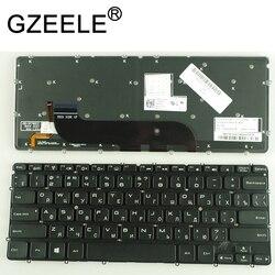 GZEELE nowy dla DELL XPS 13 9333 L321X L322X klawiatura podświetlany rosyjski