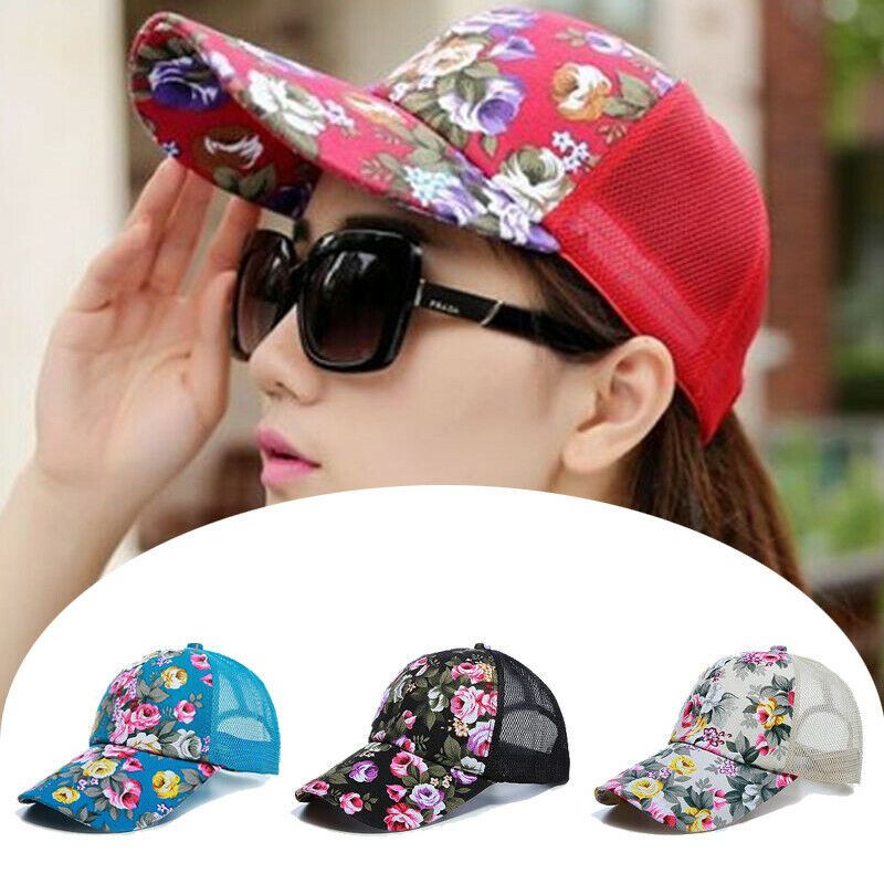 Snapback Hat Baseball-Visor Fashion-Caps Printed Adjustable Women Summer Hip-Hop Comfortable
