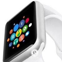 Смарт часы Bluetooth с сердечного ритма крови Давление здоровья наручные часы для ios Apple iphone iOS и Android samsung Смарт часы