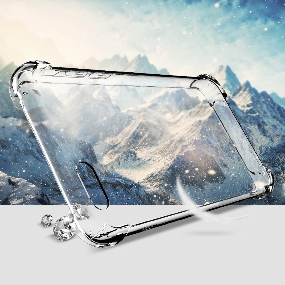 IPhone 7 6s 6 Plus XR XS MAX Yumşaq TPU Zərbəyə davamlı şəffaf - Cib telefonu aksesuarları və hissələri - Fotoqrafiya 4