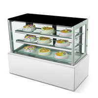 1800*700*1250mm Japanese Type Electric Display Refrigerator Cake Showcase for Sale