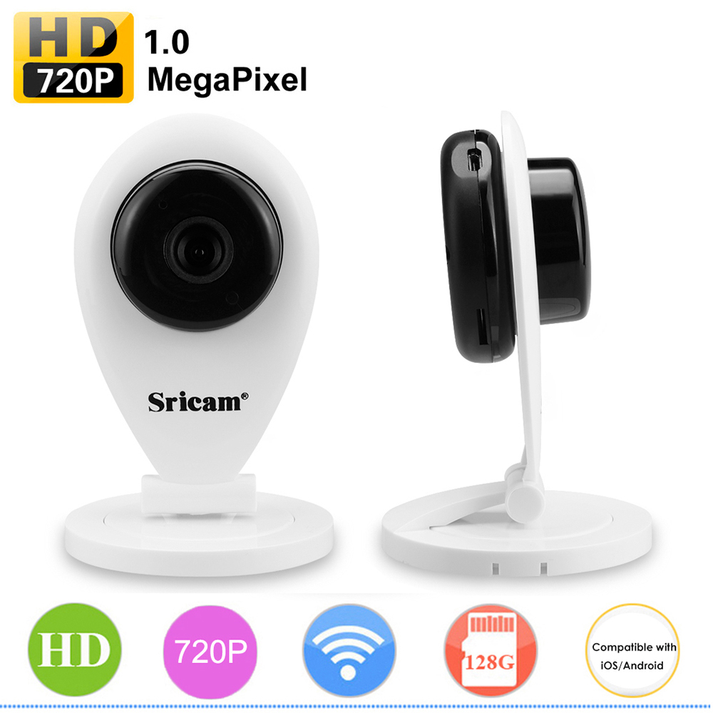 Sricam HD 720P Wireless Wifi IP Camera Smart P2P Baby Monitor Network CCTV Security Camera Mobile Remote Camera Without IR Cut цена 2017