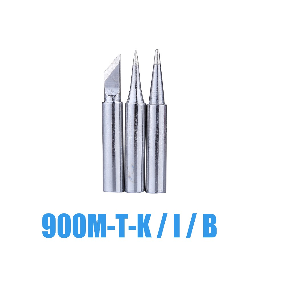 3pcs/lot Soldering Tip 900M-T Welding Head Solder Iron Tips Welding Sting For BGA Soldering Rework Tools