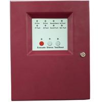 Бесплатная доставка 2 зоны Мини пожарная сигнализация панель управления пожарная панель ведомая панель управления Лер 2 проводной FACP