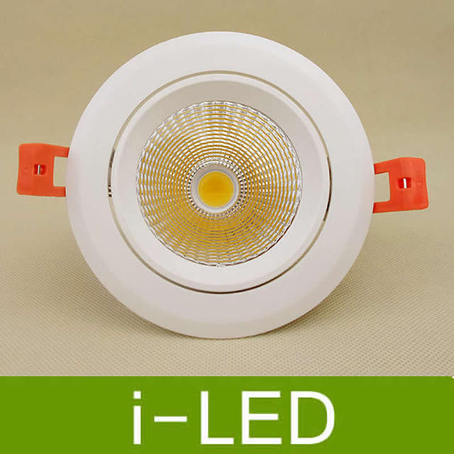 Newest cree cob led downlight 10w dimmable led recessed lights lamp newest cree cob led downlight 10w dimmable led recessed lights lamp adjustable angle ac110 260v aloadofball Gallery