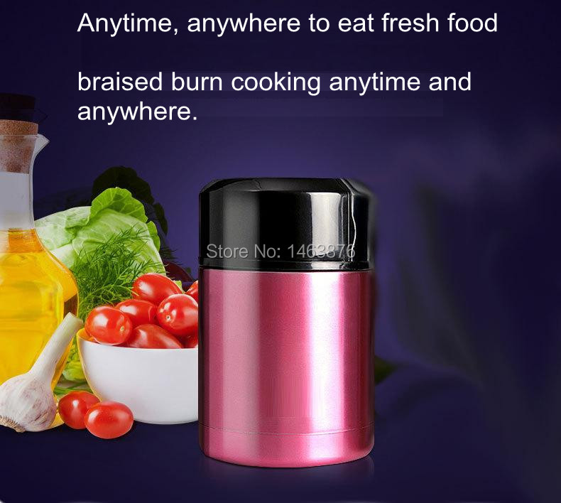 Water bag  1L vacuum cup ation boxes stainless steel vacuum braised burn pot thermal insulation bucket sealing lunch dot