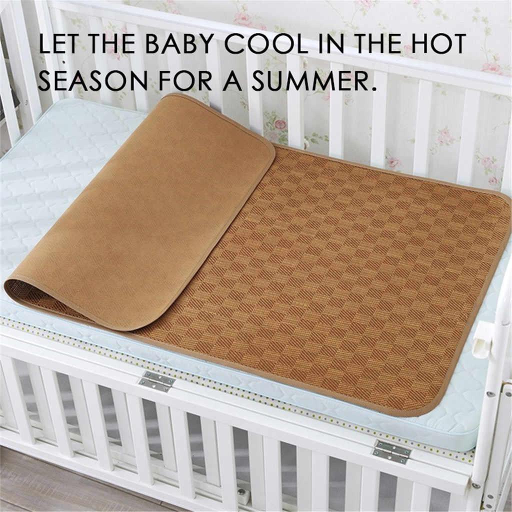 Verão esteira de dormir do rattan do bebê macio legal cama boa permeabilidade ao ar sono alta qualidade algodão macio moda casa nova