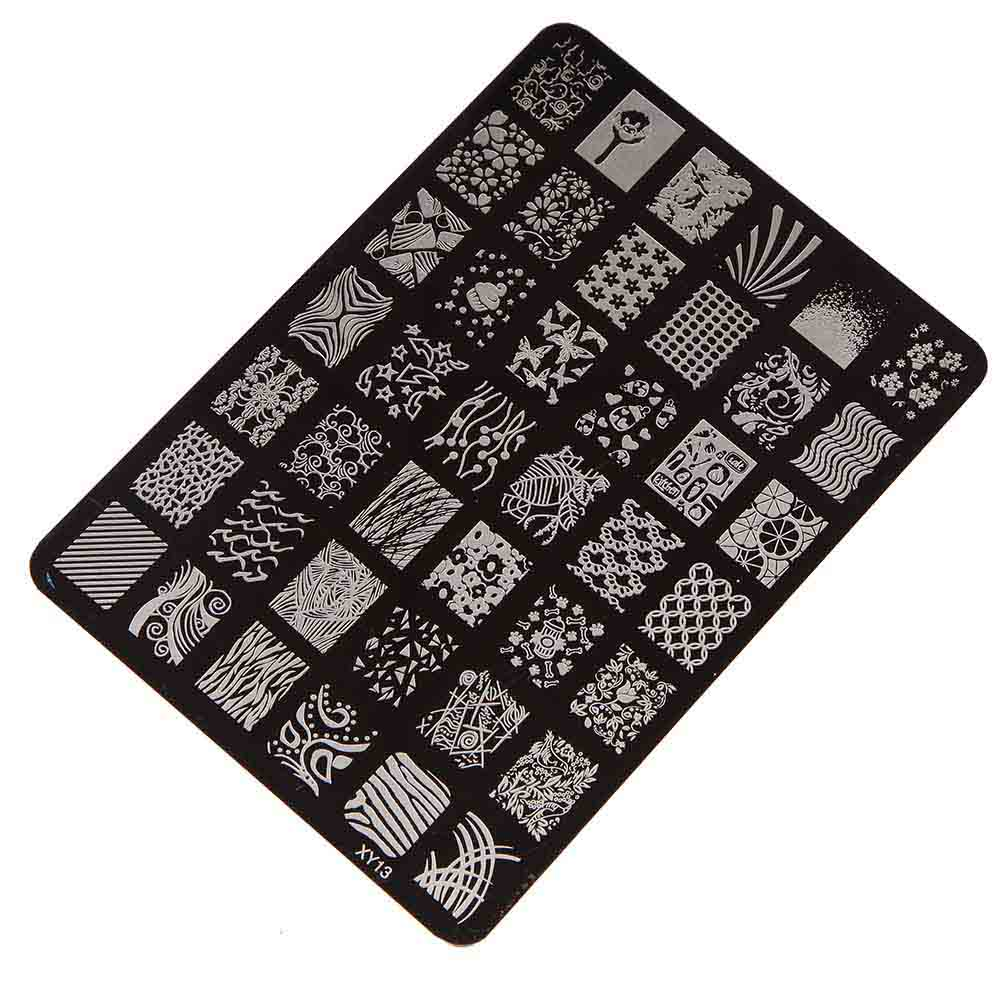 Best Deal Good Quality font b Nail b font Stamping Printing Plate Manicure font b Nail