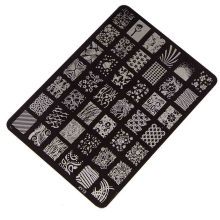 Best Deal Good Quality Nail Stamping Printing Plate Manicure Nail Art Decor Image Stamps Plate for Women Lady Beauty 1PCS
