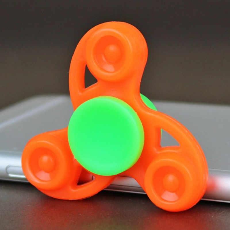 Высокое качество EDC ручной Спиннер Новый Спиннер для аутизма и СДВГ время вращения длинные стоп стресс игрушки подарок xd