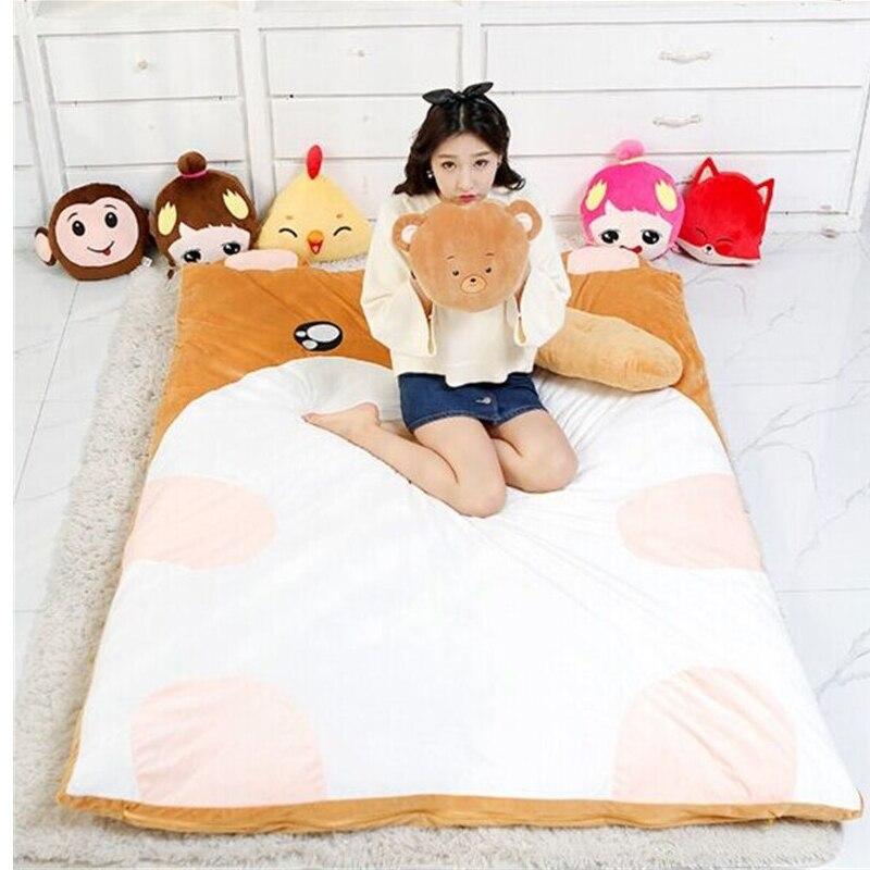 Fancytrader Kawaii Cute Mouse Plush Bed Sofa Soft Animal Beanbag Tatami Carpet Mattress 200cm X 150cm fancytrader soft huge funny pikachu beanbag with sleeping bag bed carpet tatami mattress sofa ft90267
