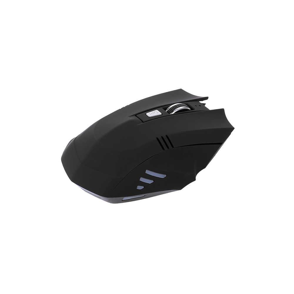 ワイヤレスゲーミングマウス 1600 DPI 調整可能な Dpi BT 充電式マウス人間工学マウスゲームやオフィスでの使用
