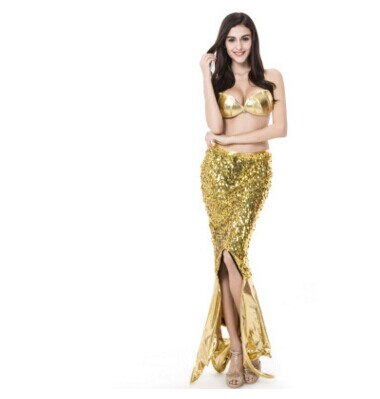 Flash Mermaid Cosplay Uniform Yellow Dress For Adult High Quality  Mermaid Dress Holliween Carnival Cosplay