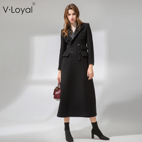 Autumn and winter, new fashion, style, long hair, coat, European and American silk lapel, wool coat.