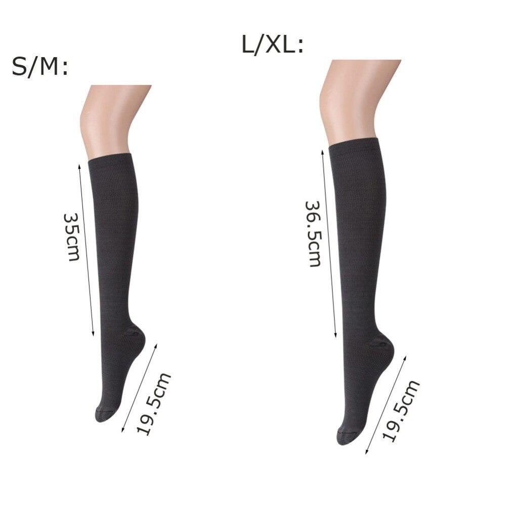 533fae4ecaa Men Women s Anti Fatigue Knee High Socks Compression Leg Support Socks 1  Pair Hot!-in Stockings from Underwear   Sleepwears on Aliexpress.com