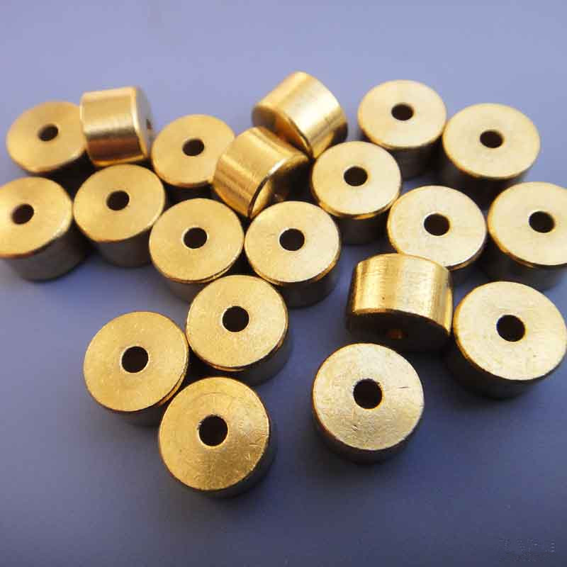 10pcs/pack J373 5*8mm Micro Cavity Brass Column Mini Brass Axle Sleeve Model Car Limiting Stopper Free Shipping Russia