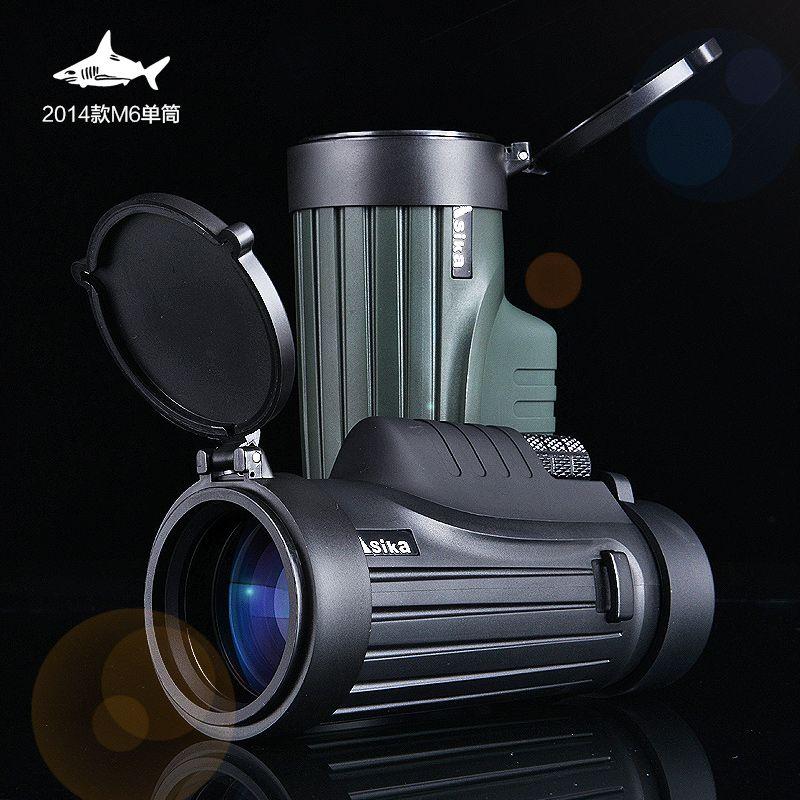 VDA / Asika Optics Solo Black 8x42 Monocular IPX 8