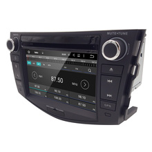 Capacitive Screen Android 5.1 PC 7″ Car DVD GPS Video Player For Toyota RAV4 RAV 4 2006-2012 With 3G WiFi DVR OBD