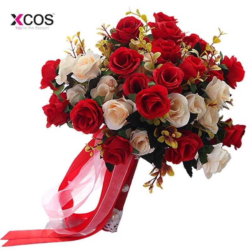 Zaatora Bridesmaid Wedding Bride Bouquet Romantic Wedding Bouquet ...