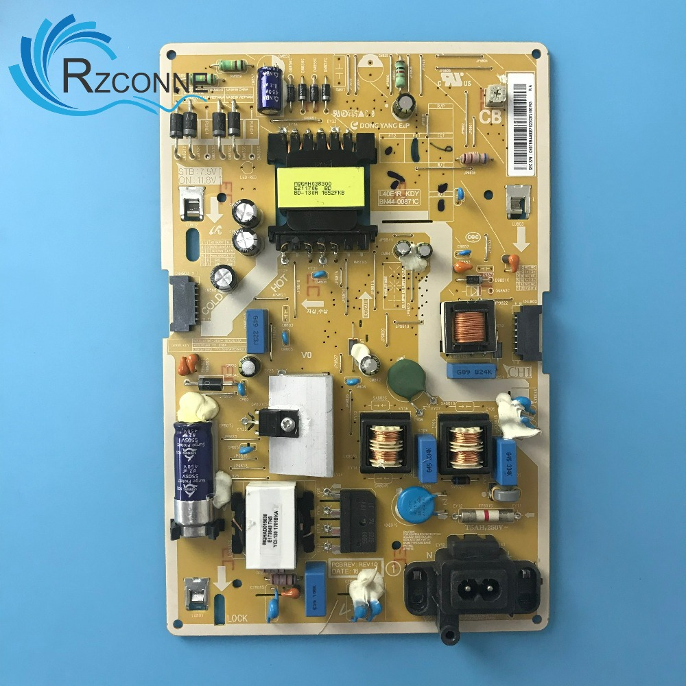 Power Board Card Supply For Samsung 43'' TV L40E1R_KDY BN44-00871C UA43K6800AJ UE43M5505AK UE43M5520AK UE43M5600AK UE43M5500AK