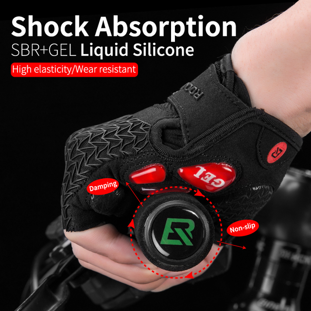 Bicycle Gym Fitness Non slip Sports Gloves