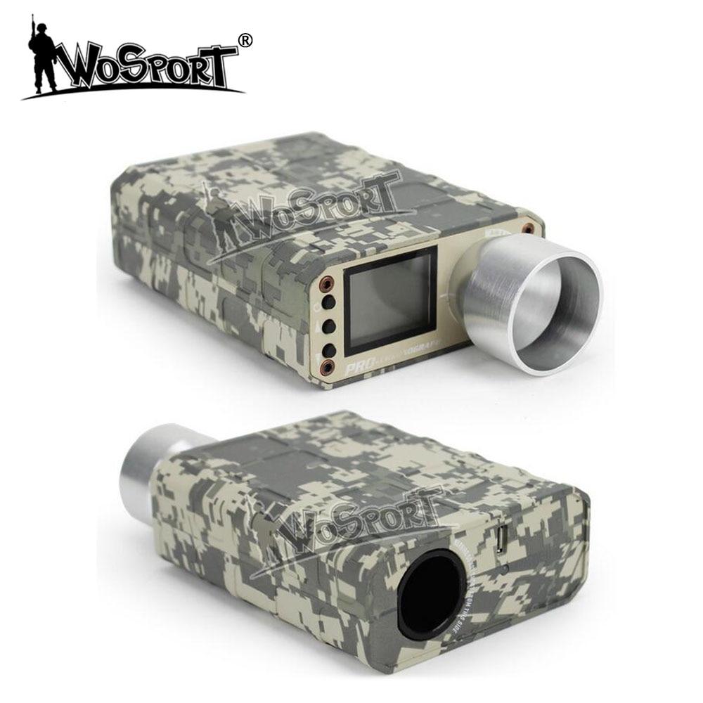 € 47 87 32% de réduction WoSporT X3400 Airsoft BB testeur de vitesse puce  de tir tachymètre Pro chronographe pour testeur de tir de chasse dans
