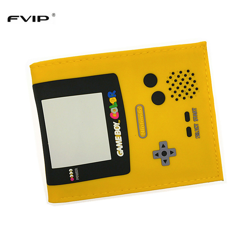FVIP Classic Nintendo Wallet Game Boy Color 3d Design Coin Purse Free Shipping nintendo gbc game video card pokemons classic collect classic colorful edition