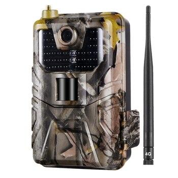 Hc-900Lte kamera myśliwska 4G 16Mp 940nm kamera obserwacyjna Mms/Sms/Smtp/Ftp Ip65 dzika kamera 44 Led