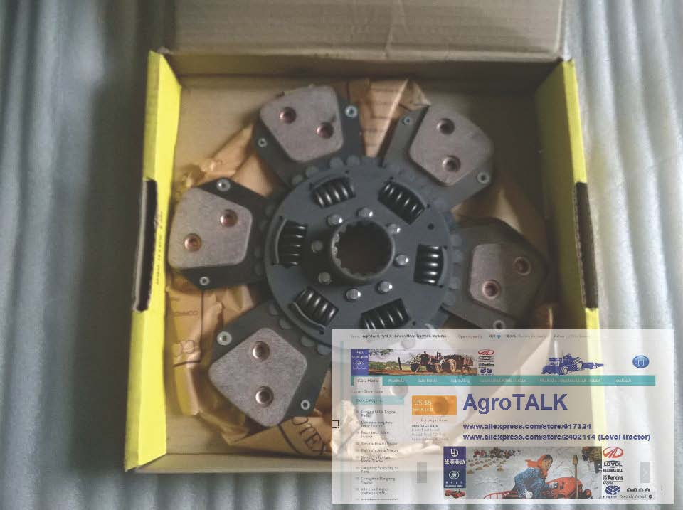 TAISHAN KM804 tractor parts, the clutch disc LUK 11, 280mm clutch clutch disc clutch