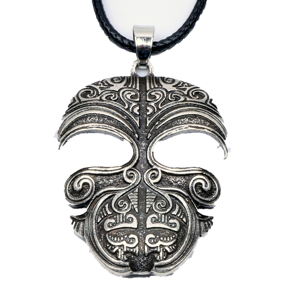 Maori Ring Tattoo: Ta Moko Maori Mask Necklace Pendant Tribal Tattoo Kirituhi
