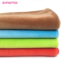ZYFMPTEX Minky Plush Fabric 150x50cm Super Cheapest Limited 1.5mm Pile Polyester Plush Toy Fabric Patchwork Felt Doll Material