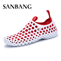 Fashion Lovers Hole Shoe Womens Sandals Hollow Outdoor Shoes Flat Casual Native Summer Shoes Superstar Multifunction