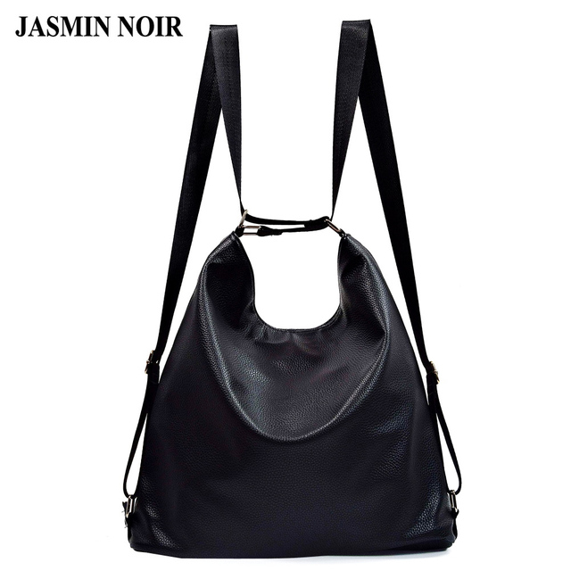 66932c9956ff Fashion PU Leather Shoulder Bags Travel Bags for Women Designer Handbags  Women Back pack Lightweight Brand Women School Bags