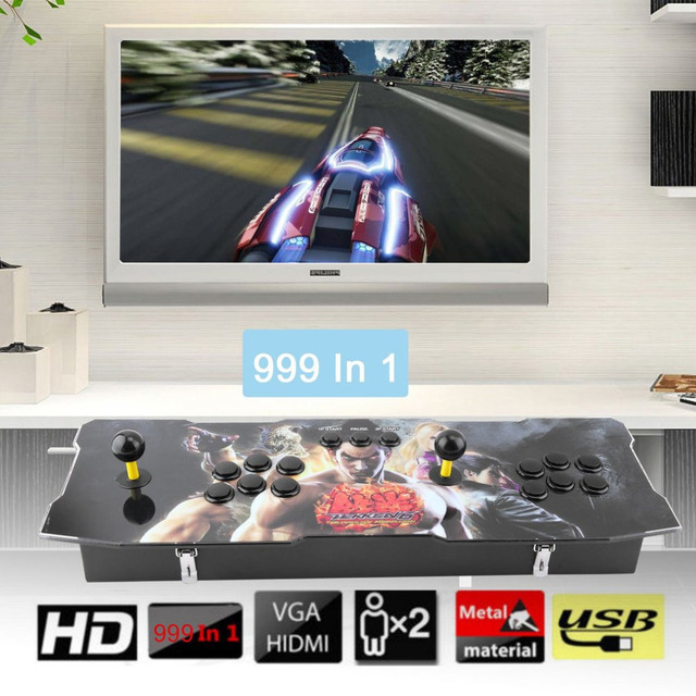 Professional 999 In 1 Super High Definition Classical Arcade Games Station  Fluent Game Control Perfect Gifts