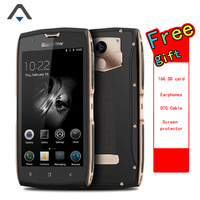Blackview BV7000 smartPhone Quad core 2GB RAM 16GB ROM 3500mah Android 7.0 FHD Fingerprint phone with NFC free gift 16G TF card