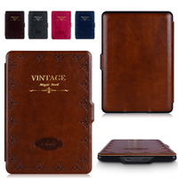 Kindle Paperwhite Case Lighted Slim PU Leather Cover Fit Kindle Paperwhite1 2 3 2015 5th Generation