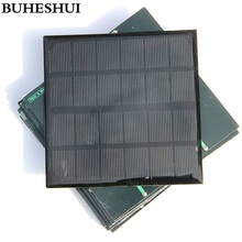BUHESHUI 3W 6V Mini Solar Cell  Monocrystalline Solar Panel Module DIY Solar Charger 145*145*3MM 20pcs Wholesale Free Shipping