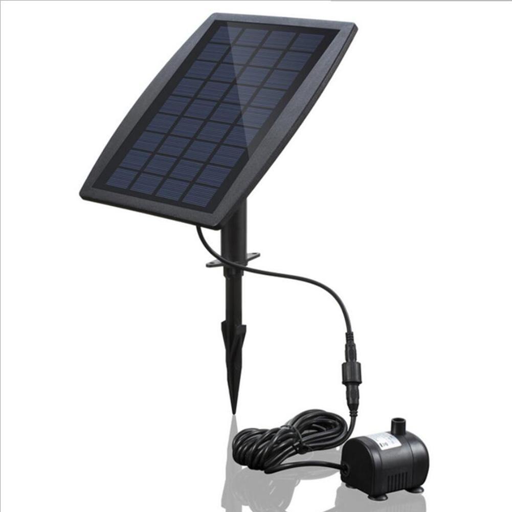 Pompe à eau sans brosse de consommation d'énergie de pompe actionnée solaire de 2.5 W pour la fontaine fontaine solaire de piscine de jardin de fontaine