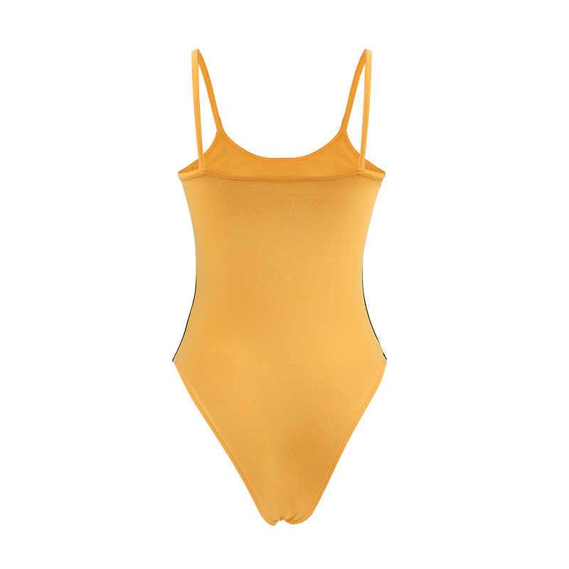 Квентин Тарантино направленное боди из фильма женский сексуальный летний Облегающий комбинезон с вырезами желтые комбинезоны для девочек Женское боди комбинезоны