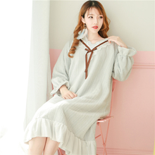 14d18784e1 Princess sweet lolita pajamas Mink Down Sweet Girl Wind pajamas in Autumn  and Winter Thickened Warm