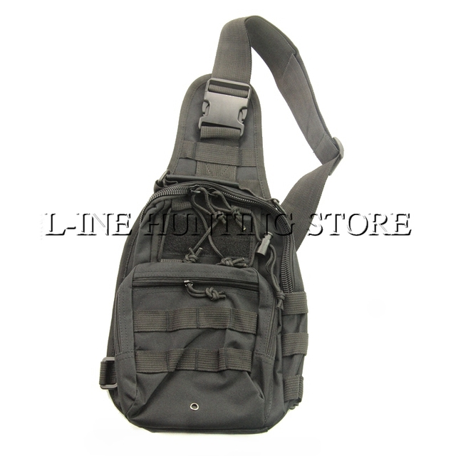 Sling Messenger Schoudertas Borst Pack Bag Molle Tactical Assault MVpUzS