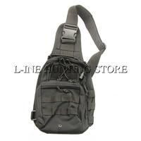 Molle Tactical Sling Chest Bag Assault Pack Messenger Shoulder Bag Backpack Multicam Black Tan Green