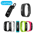 Lemse A8 Bluetooth Smart Wrist Watch Smartband Bracelet Sync Phone Call Pedometer Tracker Monitor for Xiaomi Android Phone
