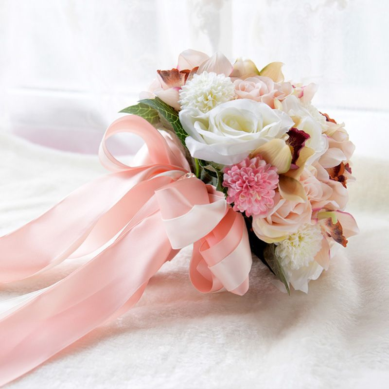 Акции букет невесты из живых цветов своими руками, цветы