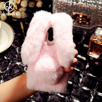 Cute Rabbit Fur Case For Xiaomi Redmi 4 Pro Redmi 4 Prime 16GB 32GB Redmi 4S