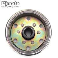 BJMOTO Motorcycle Coil Magneto Stator Flywheel Rotor For Yamaha Banshee 350 YFZ350 Rotor assy 1987 2006