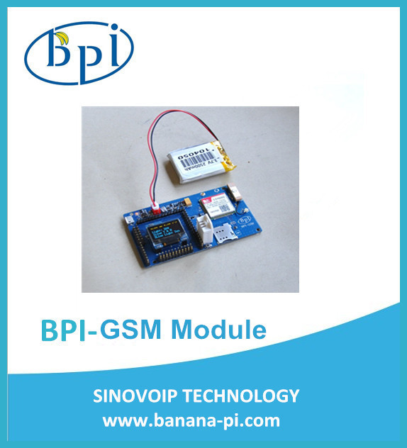 New arrivals Ardui-no BPI-GSM Module,Battery,OLED display kits for making phone call, text,2G connectivity,GPS positioning