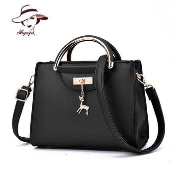 2020 Hot sale New Arrival Solid Color Vintage Flap Matte PU Women Tote Fawn Logo Zipper Lovely Lady Crossbody Handbag