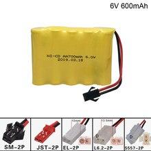 Батарея для электрической игрушки, 6 в, 700 мА/ч, AA, 1 м, для радиоуправляемого автомобиля, для корабля, робот, AA, 6 в, 700 мА/ч, батарейка, игрушки, ак...
