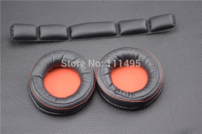 Replacement Ear pad cushion bands for <font><b>SteelSeries</b></font> <font><b>Siberia</b></font> 840 <font><b>800</b></font> Wireless Headset Dolby 7.1 headphone image